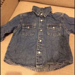 Children's Place Denim Shirt NWOT